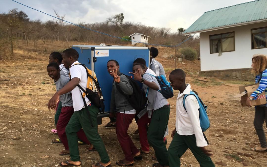 Myriado Cleantech installs two water purifiers in Tanzania